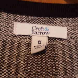 croft & barrow Sweaters - Croft and Borrow Cardigan SMOKE FREE home
